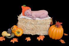 FallHALLOWEEN Newborn Pumpkin Hat  PHOTO PROPS   by rosytouch, $9.65
