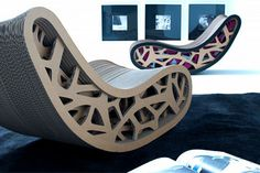 epiu-dacia corrugated cardboard chair