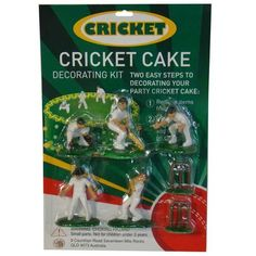 Sydney Party Shop - CRICKET SET CAKE DECORATION, $9.90 (inc GST) $9.00 (exc GST) (http://www.sydneypartyshop.com.au/cricket-set-cake-decoration/)