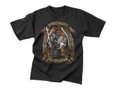 """Black Ink """"Put On The Whole Armor Of God"""" T-Shirt"""