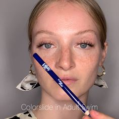 Colorslide is highly-pigmented gel eyeliner pencil in 14 shades that last all day & all night. Shop 14 shades to give your black eyeliner the day off. Gel Eyeliner Pencil, Black Eyeliner, Pencil Eyeliner Tutorial, Best Gel Eyeliner, Drugstore Eyeliner, Color Eyeliner, Apply Eyeliner, Skin Makeup, Eyeshadow Makeup