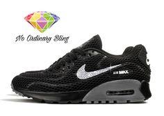 Nike Bling Air Max 90 Ultra Women's Black/Cool