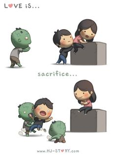You fight the zombies so I don't have to ~JAC