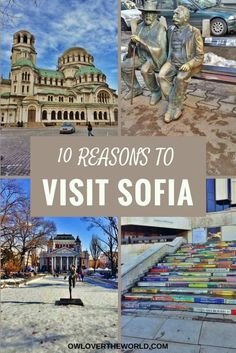 Sofia is fast growing, multi-cultural and modern city. It has a rich history, amazing food scene, nice people and is budget friendly. The Bulgaria capital is a wonderful travel destination not to be missed. To prove you that here are 10 reasons to visit Sofia on your next trip. Visit Sofia / Travel to Sofia / Travel tips / Sofia travel tips / Reasons go visit Sofia / Sofia things to do / Sofia inspiration / Travel to Sofia Bulgaria