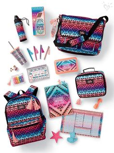 Justice is your one-stop-shop for on-trend styles in tween girls clothing & accessories. Shop our Multi Geometric Messenger Bag. Justice Backpacks, Justice Bags, Shop Justice, Justice School Supplies, Cool School Supplies, Justice Accessories, School Accessories, Schul Survival Kits, School Suplies