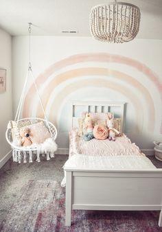 Big Girl Bedrooms, Little Girl Rooms, 4 Year Old Girl Bedroom, Modern Girls Rooms, Toddler Rooms, Girl Toddler Bedroom, Baby Girl Rooms, Girls Pink Bedroom Ideas, Girls Bedroom Decorating