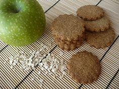 Cocinerando: IBiscuits à l'avoine, farine complète et compote de pomme