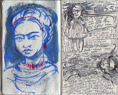 frida kahlo sketchbook - Google Search