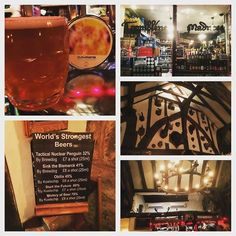 #York's 'House of Trembling Madness' is an incredible venue with a terrific range of #beers. Downstairs is a bottle shop upstairs is a #pub. Very cool place. #pint #Brewdog #drink #IPA #decor #design #traditional #Yorkshire #England #travel #tourism #tourist #adventure #explore #life http://ift.tt/1XVa1cU