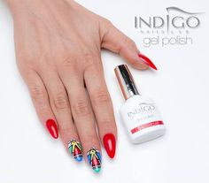 Indigo Gel Polish Double Tap if you like #nails #nailart #nailpolish Find more Inspiration at www.indigo-nails.com
