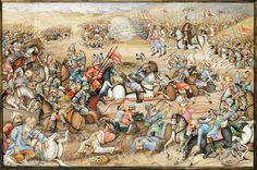 THE BATTLE OF CHALDIRAN   جنگ چالدران، بقلم علی بن ابراهیم؟،…   Flickr