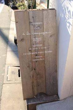 店舗看板 木製 diy - Google 検索
