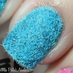 The PolishAholic: NOTD: Fuzzy Nail Sweaters