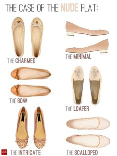 Favorite picks of the nude flat - must, must have*