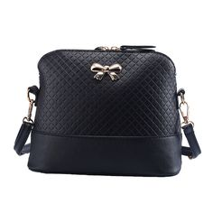New Vintage PU Leather for Women Bags Fashion Small Shell Bag With Bowknot Ladies Shoulder Bag Spring Casual Crossbody Bags //Price: $20.52 & FREE Shipping //     #elegantlady