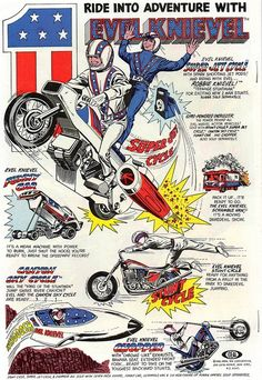Evel Knievel Toy Ad.