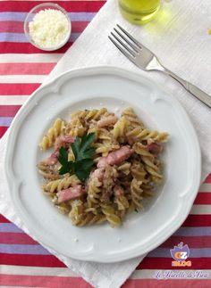 Le Ricette di Bea presenta un primo piatto, la Pasta con radicchio e pancetta cremosa, un piatto ricco di sapore ma delicato allo stesso tempo.