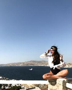 "174 Likes, 3 Comments - Era Maria Kanani (@erakanani) on Instagram: ""Namastè 🇬🇷💦 • • • • • #mykonos #mykonos2017 #mykonos2017 #greece #summeringreece #summergirl…"""
