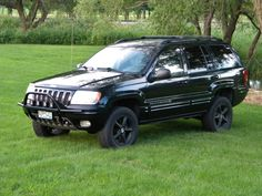 Jeep Grand Cherokee WJ - Our new slotted light bars with hoop for the 99-04 Jeep Grand Cherokee WJ's are now available.