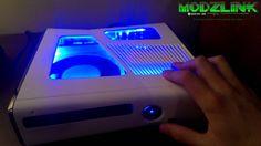 SOLD: Custom RGH Dual NAND XBOX 360 slim [ModzLink.com] - YouTube