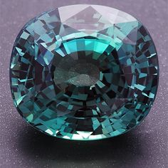 Indian Alexandrite under sunlight. , Superior brilliance, and excellent clarity and although the color change is not strong, alexandrites from Andrapradesh are well known for their beautiful daylight color.   More @ www.multicolour.com and #gemstones #alexandrite