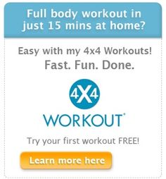 These 15 Minute Workout DVDs are awesome. products-i-love