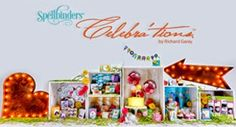 Dragonfly Treasure: Spellbinders® Celebra'tions Collection! Review and #Giveaway!