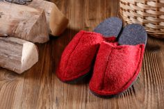 Hauspantoffel / Hauspatschen Alina Moccasins, Slippers, Flats, Fashion, Gifts, Penny Loafers, Loafers & Slip Ons, Moda, Loafers