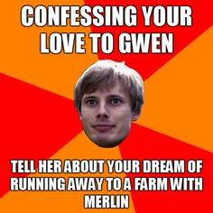 Typical Arthur. But we all love him :)