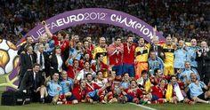 Spain, the Champion of UEFA Euro 2012