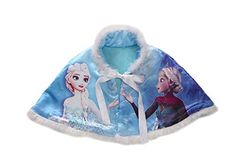 Kids Toddler Little Girls Frozen Series Warm Cloak purplish blue 12045Y -- Visit the image link more details. (This is an affiliate link) #BabyGirlHoodiesActive