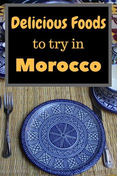 Not only is Morocco an amazing country to visit, it's a country full of delicious food