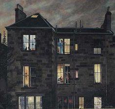 Avril Paton - September (?) - Glasgow artist.