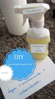 Como fazer desodorizador para casa