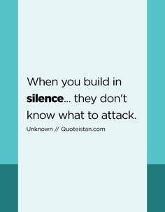 Speech and silence. We feel safer with a madman who talks than with one who cannot open his mouth. Silence Quotes, Love Quotes, Inspirational Quotes, Law Of Attraction Quotes, Life Rules, Motivation, Be Yourself Quotes, Life Lessons, Quote Of The Day