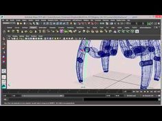 Rigging en Maya 2014 Español (parte 1) - YouTube