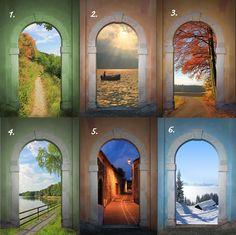 Minkä näistä ovista valitsisit?