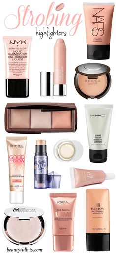 it Glow! The Best Highlighters For Strobing How to apply a highlighter for strobing & the best makeup products to use!How to apply a highlighter for strobing & the best makeup products to use! Gorgeous Makeup, Love Makeup, Beauty Makeup, Hair Beauty, Makeup Geek, Full Makeup, Prom Makeup, Perfect Makeup, Makeup Addict