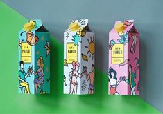 Brand identity, illustration and packaging concept for Don Pablo (student project) Cool Packaging, Tea Packaging, Food Packaging Design, Packaging Design Inspiration, Brand Packaging, Branding Design, Bottle Packaging, Label Design, Box Design