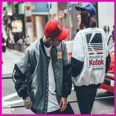 Women Men coat brand baseball Clothing outerwear Japanese style MA1 bomber  jacket Harajuku pilot Harajuku street ac55f08c2cd3