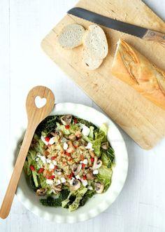 Wirsingsalat mit Quinoa