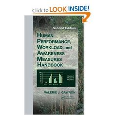Human efficiency measurement is the cornerstone of human factors and experimental psychology and the Human Efficiency Measures Handbook has long been its foundational reference. Reflecting a wider range and scope, the second edition, newly named Human Efficiency, Workload, and Situational Consciousness Measures Handbook, presents changes within the field and increased applications.