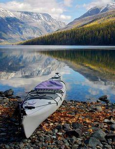 Kintla Lake, Montana #KayakingPhotography