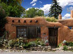 New Mexico Art - Casita de Santa Fe  by Kurt Van Wagner
