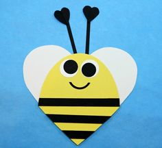 valentine-heart-shaped-bee-craft-for-kids