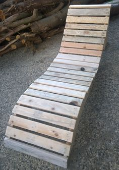 Sun Lounger from Pallets / Sonnenliege