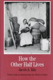How the other half lives   Open Library