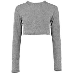 Boohoo Amelia Rib Knit Turtle Neck Crop Jumper ($7) ❤ liked on Polyvore featuring tops, sweaters, shirts, crop top, turtleneck crop top, turtleneck shirts, sleeve shirt, turtleneck sweater and white sweater