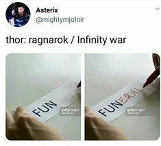 Thor Ragnarok - Infinity War