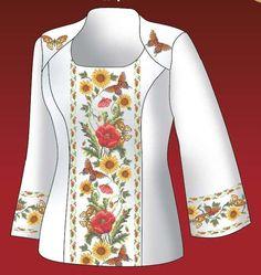 Вышивка орнаменты рубашку